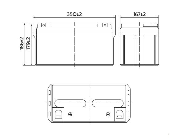 HRL 12-240W (65 Ач)