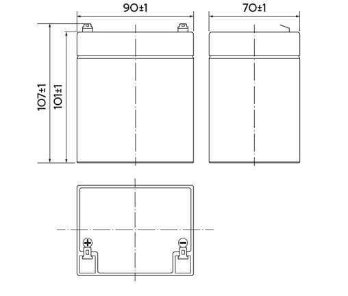 HRL 12-22W (5 Ач)